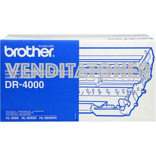 Tamburo Originale Brother DR-4000 30000 Pagine