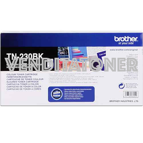 Toner Originale Brother TN-230BK Colore Nero 2200 Pagine